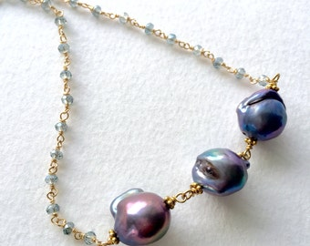 Pearl Pendant Necklace by KarenWhalenDesigns