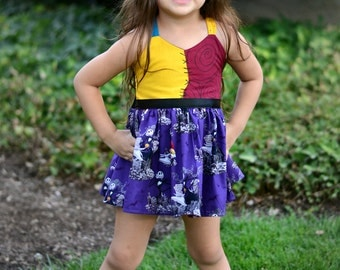 Boutique Sally tunic dress, Nightmare Before Christmas,  Photography, Pageant, Birthday Sizes Girls 6-10