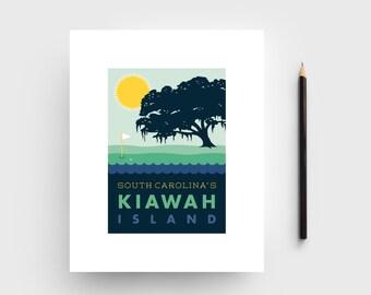 Kiawah Island 8x10 Print; Charleston Area Artwork; Kiawah, South Carolina art