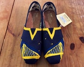 Warriors Inspired Toms (Size 8)