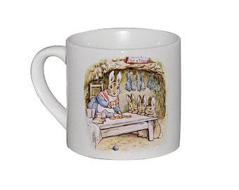 Personalised Beatrix Potter mug - Benjamin Bunny