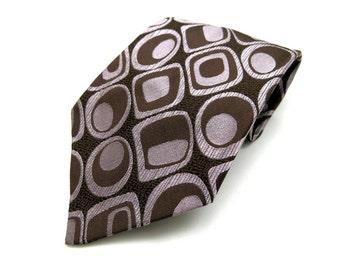 Silk tie mid century fashion - tie - exclusiv design germany - fashion for men