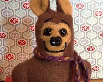Theo The Classic Stuffed Brown Pocket Bear