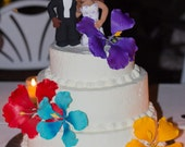 Customized wedding cake topper