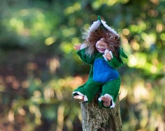 Troll Cooper -  Posable Ooak Art Doll