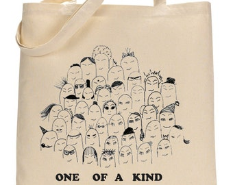 Placebo inspired bag, one of a kind tote, shopping cotton bag