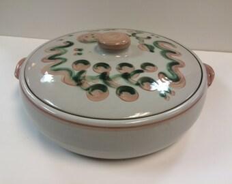 Stoneware Casserole Dish w/Cover