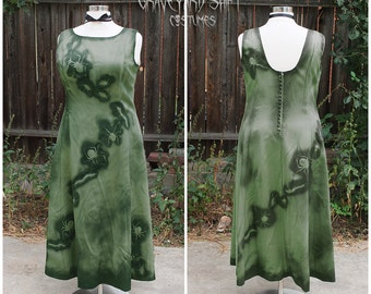 PLUS SIZE Zombie Costume // Zombie Gown // Bugs dress  Halloween Costume  Size 20 Wrap Dead Movie Star Zombie Beauty Queen zombie dress