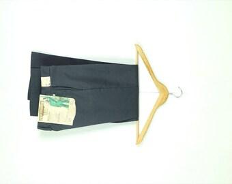 Vintage Deadstock Grey Work Pants from 1970's/W26*
