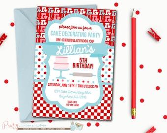 il_340x270.853362556_2hbm apron cupcake decorating birthday party invitation printable,Cake Decorating Birthday Party Invitations