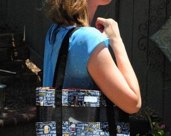 Beer types tote bag
