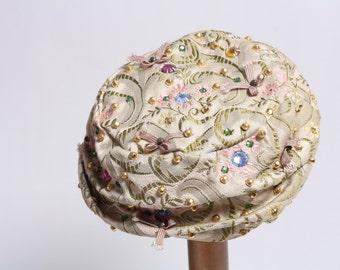 1960's Vincent de Koven Pillbox Hat