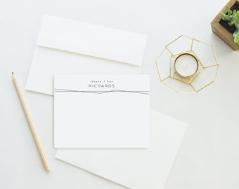 Wedding Thank You Cards. Wedding Thank You Notes. Personalized Stationery. Notecard. Personalized. Stationary. Couple. Stationery. Striking