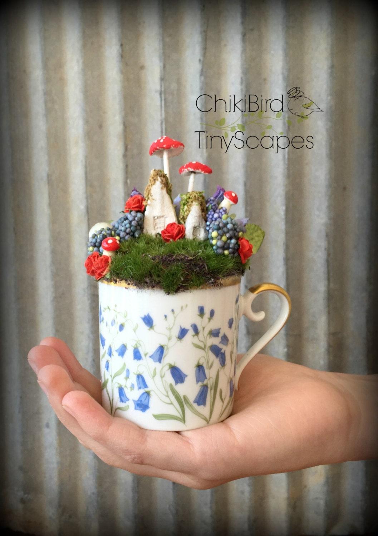 Tea Cup Fairy Garden Fairy Tea Cup Alice In Wonderland Mad