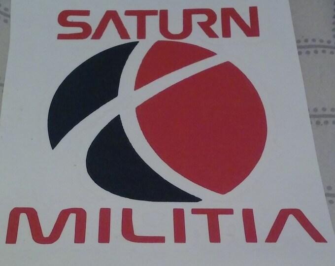 Saturn Militia Team Logo