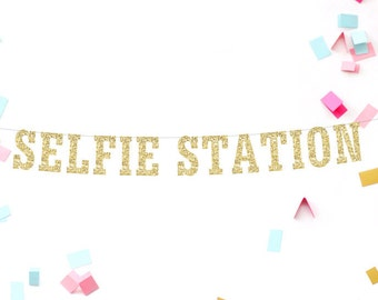 Selfie Station Banner, Selfie Station Sign, Photo Booth Sign, Photo Booth Birthday, Photo Booth Prop, Wedding Photo Booth, Birthday Selfie