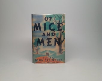 First Edition Of Mice And Men by John Steinbeck Covici Friede, New York 1937
