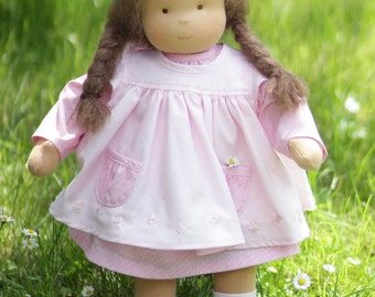 Waldorf inspired doll child/ waldorf rag doll Lisanna 18 inch / 45 cm