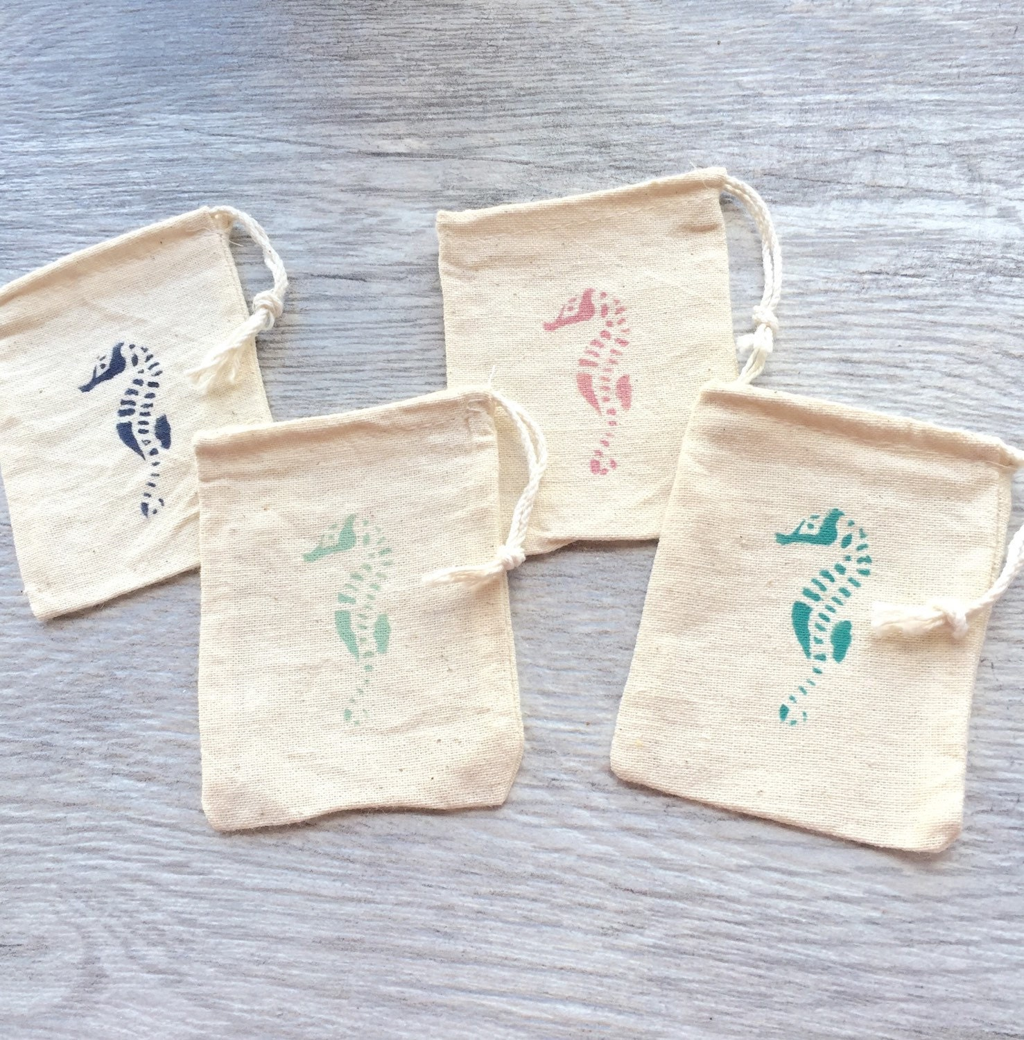 Beach wedding favor bags nautical favor bag party favors for Wedding favor gift bags