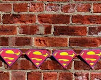 Superman Symbol Banner, Backdrop