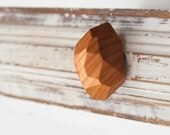 Cabinet knobs and handles - wood - Drawer knob for DIY - Cherrywood.