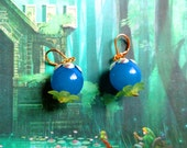 GOING OUT of BUSINESS--75% off Wind Waker-inspired bomb flower earrings