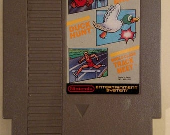 Super Mario Bros./Duck Hunt/World Class Track Meet (NES, Nintendo) Cart ONLY