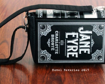 Jane Eyre Upcycled Book Purse