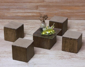 Miniature Table Set for Your Dollhouse