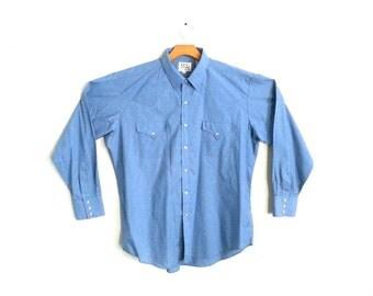 Vintage Western Shirt Ely Cattleman