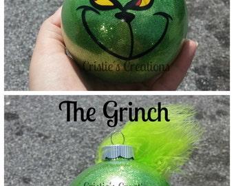 Grinch ornament