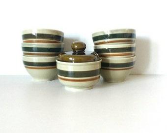 Small  bowls, European bowls, Italian bowl set, small bowl set