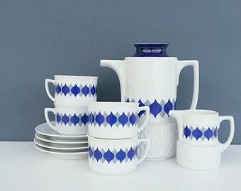 SALE SMALL Coffee set, espresso set, Retro style tea set, Bavarian Coffee set