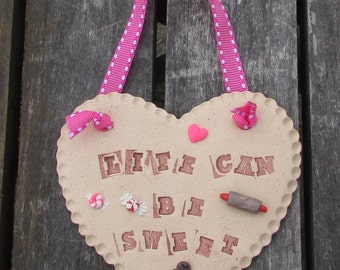 Life Can Be Sweet, Bakery Decor, Life Can Be Sweet Sign, Bakery Ornament, Life Can Be Sweet, Life is Sweet, Bakery Decoration, Bakery Wall
