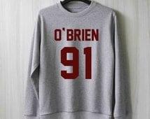 Dylan O'Brien Teen Wolf Sweatshirt Sweater Shirt – Size XS S M L XL