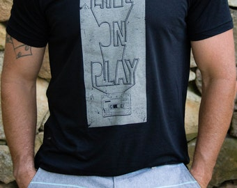 Life on Play Men's TriBlend Tee