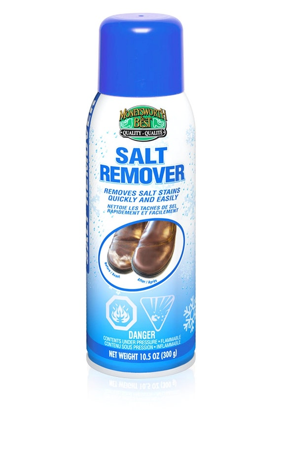salt remover aerosol foaming remove white salt residue water stain from shoe boot leather and. Black Bedroom Furniture Sets. Home Design Ideas