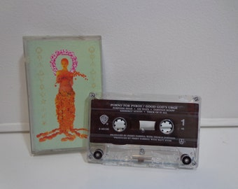 Vintage 1996 Original Porno For Pyros Good God's Urge Cassette Tape Music Album by WB Warner Brothers Records, Janes Addiction