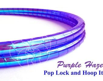 Polypro Hoop or HDPE //Purple Haze Performance Polypro or HDPE Hula Hoop Hula Hoop or Minis 3/4 or 5/8