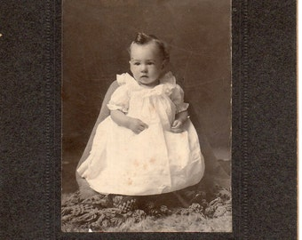 Antique Photo of Cute Baby