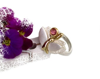 Ring with Ruby 54, silver sterling silver ring Ruby US size 6.8 UK size N