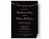 Bachelorette Invitation - Bachelorette Party Invitation (Printable) Bachelorette Invites - Bachelorette Party Invites - Girls Night Out