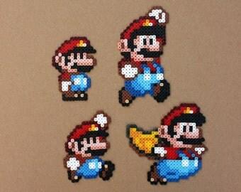 Super Mario World Perler Hama Bead Sprites Beads