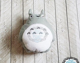 Totoro Inspired Stuffed Toy