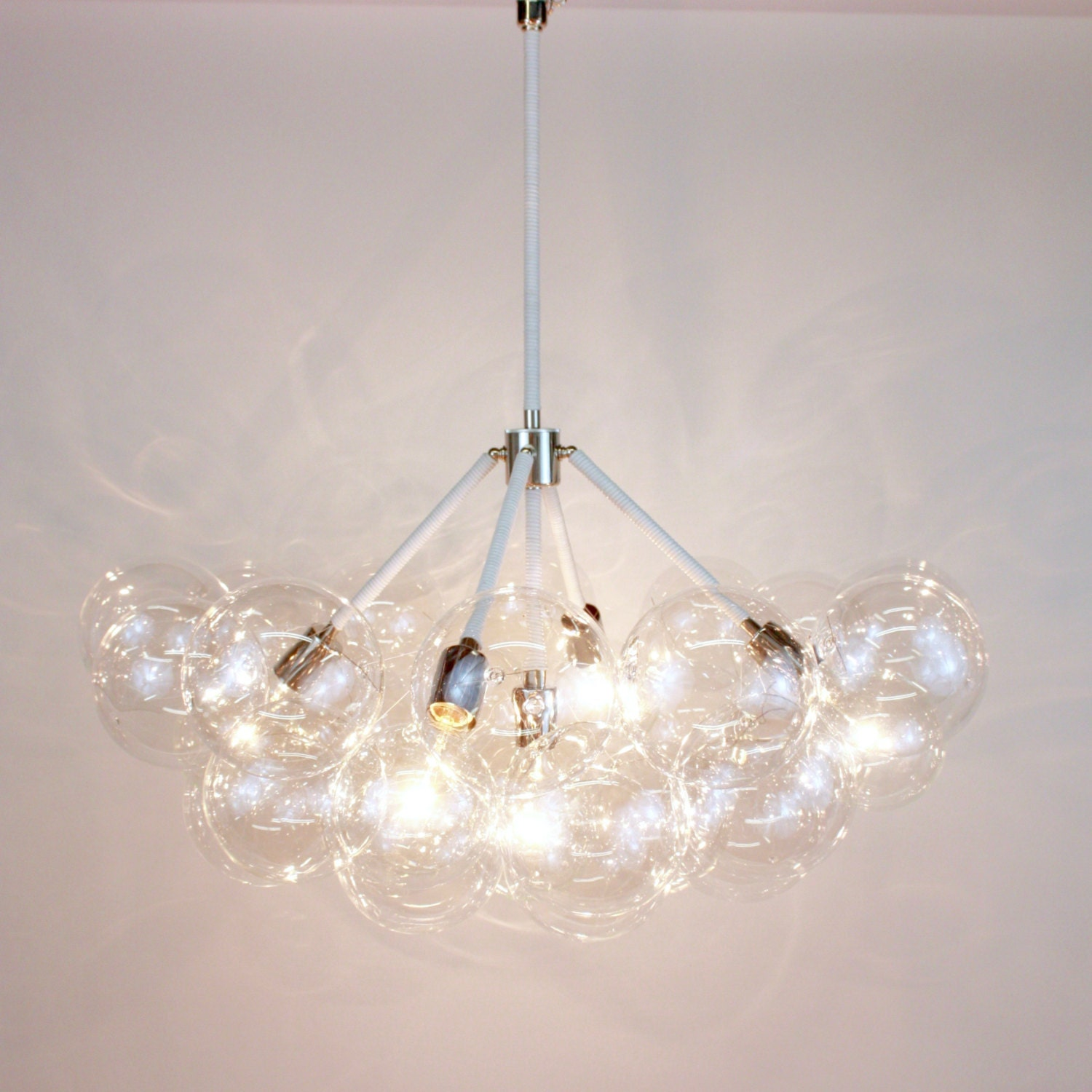The five branch bubble chandelier 32 diameter by thelightfactory - Chandelier a 5 branches ...