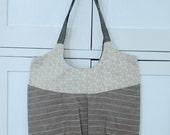 brown stripe go anywhere bag