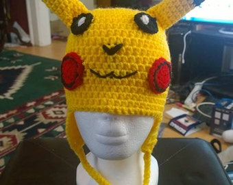 Pikachu Inspired Hat