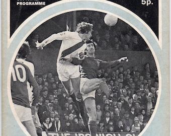 Vintage Football (soccer) Programme - Manchester City v Sheffield United, 1972/73 season