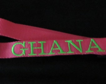 Personalized Dog Collar  / Monogrammed Dog Collar
