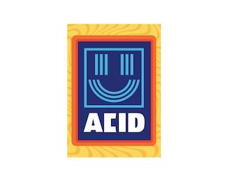 Acid house etsy for Acid house labels